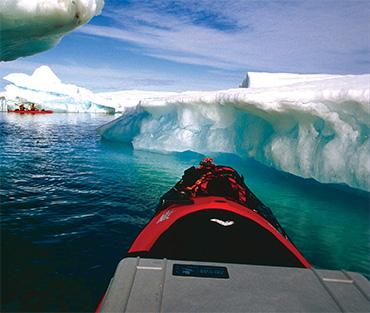 survival koffers in het ijs